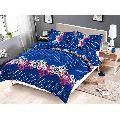 Designer Dotted Double Bed Sheet