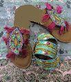 Handmade Bohemian Traditional style Ladies Sandal