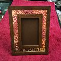 Wooden Metal Photo Frame