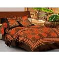 Double Bedsheet With 2 Pillow Covers