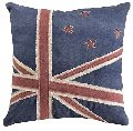 Custom plain Flag Canvas Handmade Cushion Cover