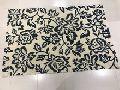 Machine Woven Anti Slip Cotton Bath Mat with latex backing
