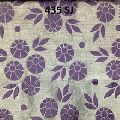 Embossed Floral Garment Fabric
