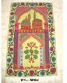 Embroidered Muslim Prayer Rug
