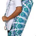 mandala print fitness exercise carrier bag