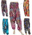 Womens Printed Rayon Harems Pants