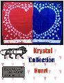 Krystal Heart Towels