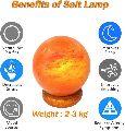 Ball Shaped Rock Salt Lamps