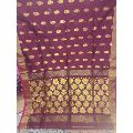 Printed Matka Silk Saree