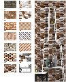 Digital Glossy Elevation Wall Tiles