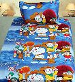 Cartoon Printed Cotton Bed Sheets