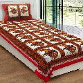 Printed Cotton Single Bed Sheets