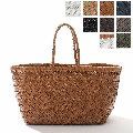 Leather Woven Tote Dragon Bag Hand made