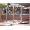 Stainless Steel Main Gate Fabrication Service
