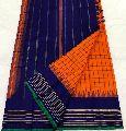 Pure Kanchipuram Silk Handwoven full pattu checks jari border saree