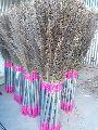 Steel Handle Grass Broom
