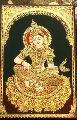 Tanjore Gaja Lakshmi Painting