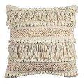 Handloom Cotton Textured Cushion