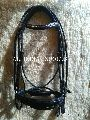 Leather Bridle with Web Reins