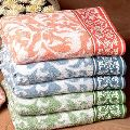 Printed Cotton Terry Towels