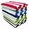 Striped Cotton Terry Towels