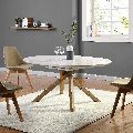 2 Seater Wooden Dining Table Set
