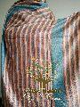 100% Pure Multicolor Modern Pashmina Kashmiri Shawl