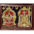 Balaji Padmavati Thaayar Super Emboss 3D Tanjore Painting