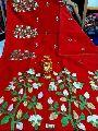 Silk Cotton Embroidered Saree