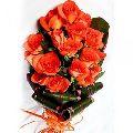 Dutch Orange Roses