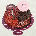 Priya Fusion Red Velvet And Chocolate Cake