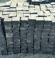 Cobble Hand Cut Black Limestone Tiles