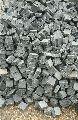 Handcut & Tumbled Cobble Black Limestone Tiles