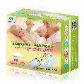 Baby comfortable film diapers