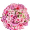 Pink Paradise Roses Bouquet