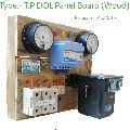 Wooden Three Phase DOL Starter Panel