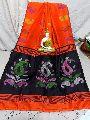 Amm Kalka Silk Cotton Hand Buti Work Sarees