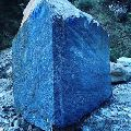 Blue Granite Block