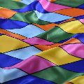 Multicolor Polyester Fabric