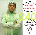 Outlook Mens PVC Raincoat