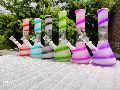 Glass colour bongs