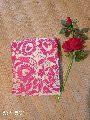 Pure Kantha Embroidered Silk Saree