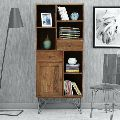 Acacia Wood Bookshelf