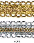 Golden-silver (jari) Lace 4049