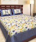 Jaipur Printed Double Bedsheets