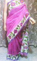 Block Printed Silk Sarees