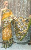 Hand Batik Printed Sarees