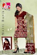 Unstitched Cotton Multy Batik Salwar Suit