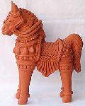 Terracotta Horse Statue