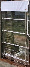 Monsoon Clear PVC Blinds